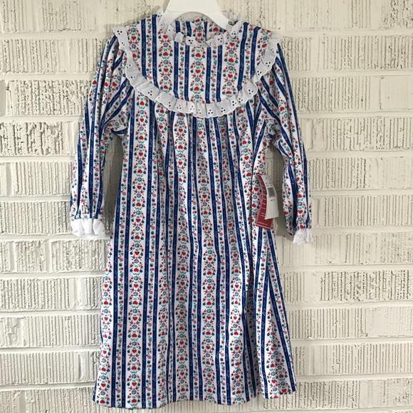 dbfbefc5d8 Lanz of Salzburg tyrolean flannel nightgown girls